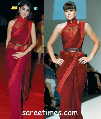 Tarun Thiliani Saree Styles
